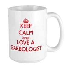 Keep Calm and Love a Garbologist Mugs