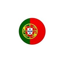 Flag of Portugal Mini Button (10 pack)