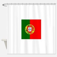 Flag of Portugal Shower Curtain