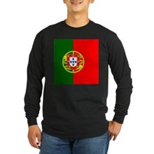 Flag of Portugal Long Sleeve T-Shirt