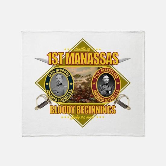 1st Manassas (battle)1.png Throw Blanket