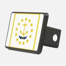 Flag of Rhode Island Hitch Cover