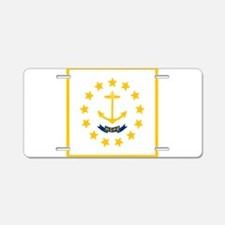 Flag of Rhode Island Aluminum License Plate
