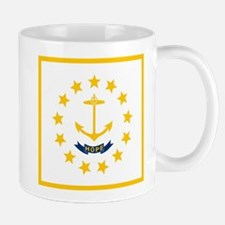 Flag of Rhode Island Mugs