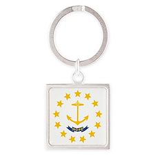 Flag of Rhode Island Keychains