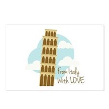 From Italy with Love Postcards (Package of 8)