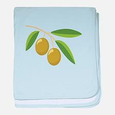 Olive Branch baby blanket