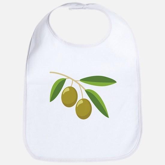 Olive Branch Bib