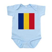 Flag of Romania Body Suit
