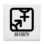 Affinity : Both Tile Coaster