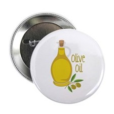 "Olive Oil 2.25"" Button"