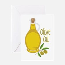 Olive Oil Greeting Cards