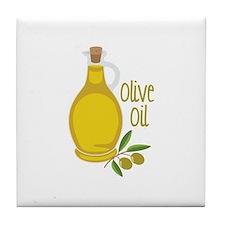 Olive Oil Tile Coaster