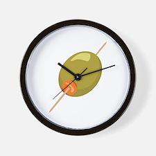 Stuffed Olive Wall Clock