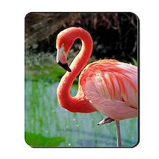 Flamingo Neck Mousepad