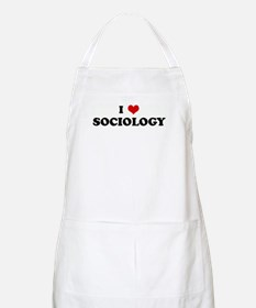 I Love SOCIOLOGY BBQ Apron