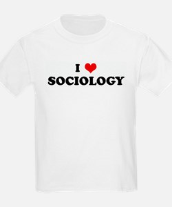 I Love SOCIOLOGY T-Shirt
