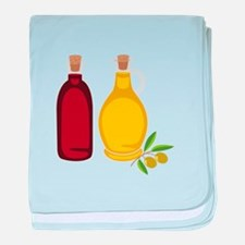 Olive Oil baby blanket