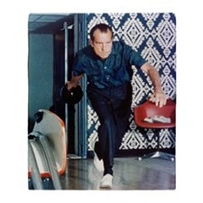 Nixon Bowling Throw Blanket