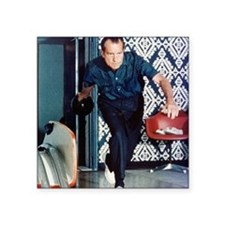 "Nixon Bowling Square Sticker 3"" x 3"""