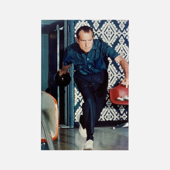 Nixon Bowling Rectangle Magnet