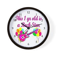 ROCKING 1 YR OLD Wall Clock