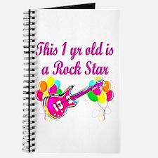 ROCKING 1 YR OLD Journal