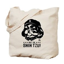 Obey the Shih Tzu! Revolutionary Tote Bag
