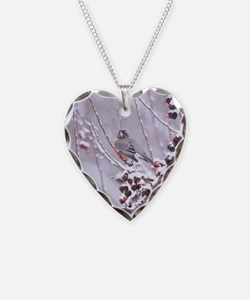 A Warrior At Heart Robin Necklace