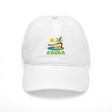 I Love Aruba Baseball Baseball Cap