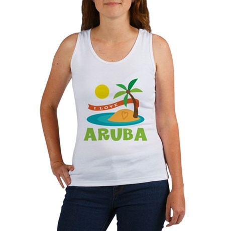 I Love Aruba Tank Top