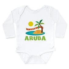 I Love Aruba Body Suit