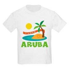 I Love Aruba T-Shirt