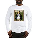 Mona's Bull Terrier Long Sleeve T-Shirt