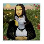 Mona's Bull Terrier Tile Coaster