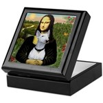 Mona's Bull Terrier Keepsake Box