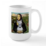 Mona's Bull Terrier Large Mug