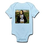 Mona's Bull Terrier Infant Bodysuit