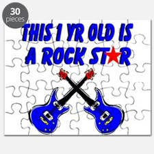 1 YR OLD ROCK STAR Puzzle