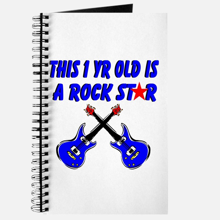 1 YR OLD ROCK STAR Journal