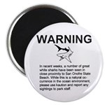 San Onofre Great White Shark Magnet (10 pk)
