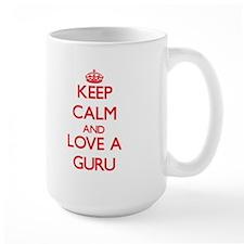 Keep Calm and Love a Guru Mugs