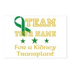 Personalize team Kidney Postcards (Package of 8)