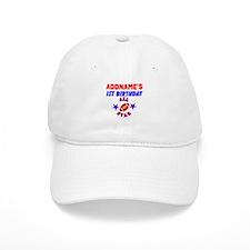 1 YR OLD FOOTBALL Baseball Baseball Cap
