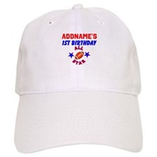 1 YR OLD FOOTBALL Baseball Cap