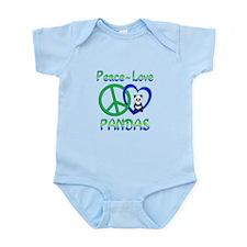 Peace Love Pandas Onesie
