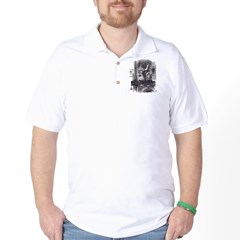 Looking Glass Front and Back Golf Shirt