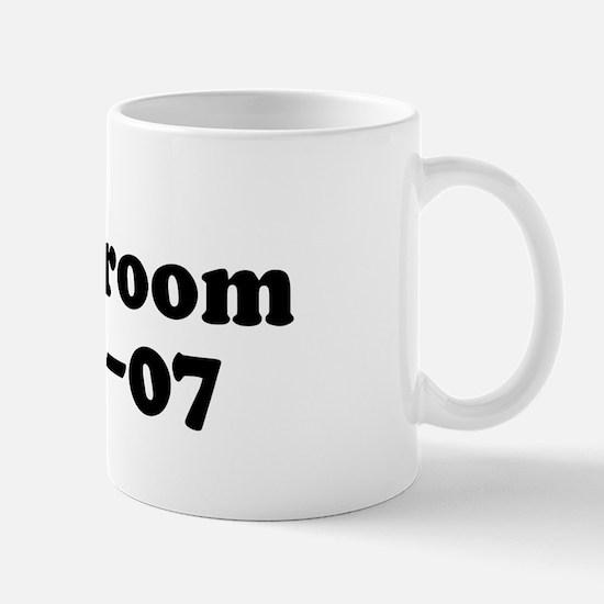 Lisa's Groom  06-12-07 Mug