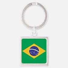 Brazilian Flag Keychains