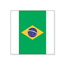 Brazilian Flag Sticker